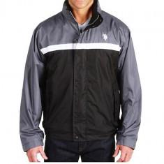 Geaca barbati U.S.Polo Assn - Barbati - 100% original, Marime: XL/XXL, Culoare: Gri, Poliester
