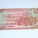 200 dong Vietnam 1987 UNC- 2+1 gratis toate produsele la pret fix - RBK3399