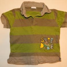 Tricou tip camasa, camasuta pentru baieti, marimea 3 ani