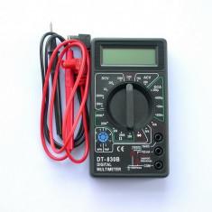 Multimetru digital, aparat de masura cu afisaj digital, voltmetru, ampermetru, ohmetru, tester - Multimetre