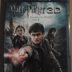 Harry Potter si talismanele Mortii partea 2 - Film Blu-ray 3D si 2D - Film SF warner bros. pictures, Romana