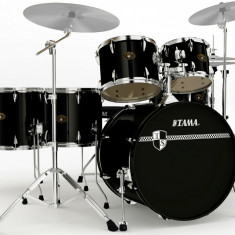 Set Tobe Altele Tama Imperialstar 6 pcs + Sabian B8 Cymbal Set + Pedala Dubla HP200TWB