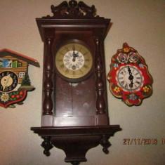 Ceasuri pendul vechi miniaturale, germane - Pendula