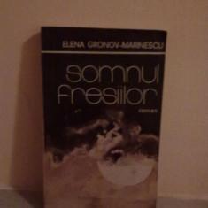 Roman - Elena Gronov-Marinescu - Somnul fresiilor