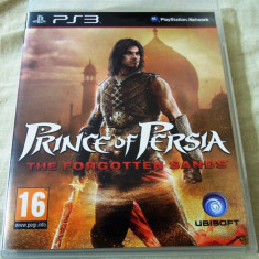 Joc Prince of Persia the Forgotten Sands, PS3, original, alte sute de jocuri! - Jocuri PS3 Ubisoft, Actiune, 16+, Single player
