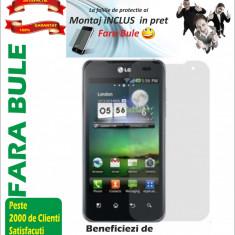 Folie de protectie LG Optimus 2X P990 Montaj iNCLUS in Pret !!!LICHIDARE DE STOC!!!