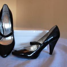 Pantofi Zara - Pantofi dama Zara, Marime: 37, Culoare: Negru, Negru
