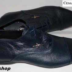 Pantofi barbati Cesare Paciotti, Piele naturala - Pantofi Eleganti CESARE PACIOTTI 100% Piele Naturala - Model NOU !!!