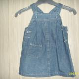 Haine Copii 6 - 12 luni, Sarafane - Sarafan fetita/fetite - set 2 buc
