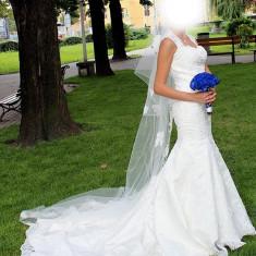 Rochie de mireasa, model unicat 2013 - Rochie de mireasa sirena