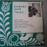 Dandas jeno tojas vioara vinyl single populara maghiara rar electrecord