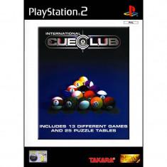 Joc original PS2 International CueClub Biliard (3+) Italian 1-2 players (transport gratuit la comanda de 3 jocuri diferite) - Jocuri PS2 Sony, Sporturi, 3+, Multiplayer