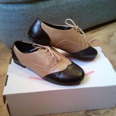 Pantofi casual de dama - Pantof dama, Marime: 36, Culoare: Negru, Negru