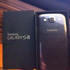Samsung Galaxy S3 Nou Neverlocked - Telefon mobil Samsung Galaxy S3, Negru, 16GB, Neblocat, Quad core, 2 GB