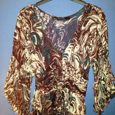 Bluza 100% din matase ZARA - Bluza dama Zara, Marime: M, M, Maneca 3/4, Casual, Din imagine