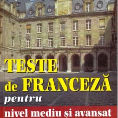TESTE DE FRANCEZA PENTRU NIVEL MEDIU SI AVANSAT de DARABOS ZSUZSANNA si KISS SANDOR teora