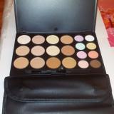 Trusa Machiaj Make-up Profesionala Camuflaj Corectoare 20 Nuante Culori Tip Fraulein38 + set Pensule 12 / set - Trusa make up
