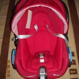 Carucior copii 3 in 1 Bebe Confort, Altele, Pliabil, Rosu, Maner reversibil - Carucior BebeConfort Trio Streety