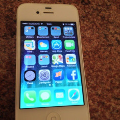 Vand iPhone 4 Apple 8 gb alb neverlocked, Neblocat