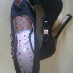 Pantofi Miss Sixty nr. 36 - Pantof dama Miss Sixty, Culoare: Negru, Negru
