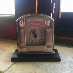 Ceas de mana - Ceas de masa Valeti and Co placat pe fata cu argint - Quartz