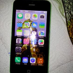 Iphone5c ca nou..made in usa - iPhone 5C Apple, Verde, 16GB, Neblocat
