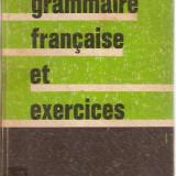 GRAMMAIRE FRANCAISE ET EXERCICES / A. ROUGERIE , 16