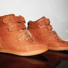 Pantofi dama, Marime: 37.5, Camel - Pantofi sport Bershka