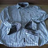 Camasa Polo - Camasa barbati, Marime: XL, Culoare: Alb, Maneca lunga