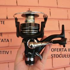 Mulineta - Set 4 Mulinete FL VioSteeze 6000 10 rulmenti cu baitruneer ( Bait-runner ) Idela Pescuit crap / Feeder