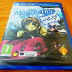 Joc Mod Nation Racers Road Trip, PS Vita, sigilat, alte sute de jocuri! - Jocuri PS Vita, Curse auto-moto, 3+, Multiplayer