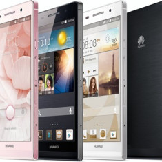 Telefon mobil Huawei Ascend P6, Alb, 8GB, Neblocat, Single SIM - Huawei Ascend P6 NOU