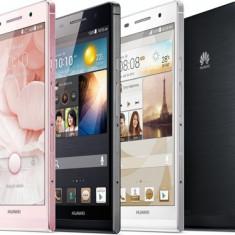 Huawei Ascend P6 NOU - Telefon mobil Huawei Ascend P6, Alb, 8GB, Neblocat, Single SIM