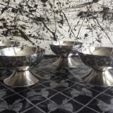 4 Cupe din inox pentru inghetata !!!