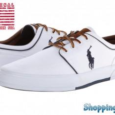 Tenisi barbati Polo Ralph Lauren Faxon Low, White | Produs 100% original | Livrare cca 10 zile lucratoare | Aducem pe comanda orice produs din SUA