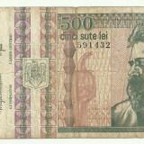 ROMANIA 500 lei 1992 VF+ [4]