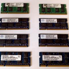 MEMORIE LAPTOP SODIMM 2GB DDR2 800MHZ PC2 6400 (1x2gb) - Memorie RAM laptop