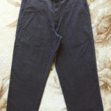 Pantaloni barbati - Pantaloni raiati Dockers; marime 32/34: 86 cm talie, 94 cm lungime; impecabili