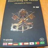 """Discovering the Vatican"" 4 DVD- 14 episoade - Film Colectie, Engleza"