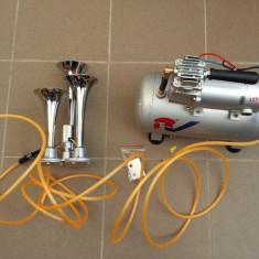 Kit Train Horn cu claxon 3 pipe.