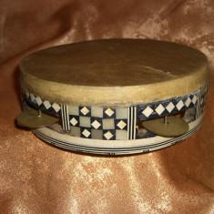 Tamburina samanistica sud Africana, foarte veche