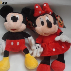 Plus Minnie si Mickey Disney - MICKEY MOUSE SI MINIE MOUSE DIN CLUB HOUSE MICKEY DISPONIBILE IN VARIANTA MEDIE 40 CM
