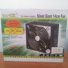 Sursa LC-Power Silent Giant LC6550GP2 V2.2 550W - Sursa PC LC Power, 550 Watt