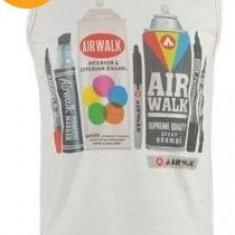Haine Copii peste 12 ani, Tricouri, Baieti - Nou! Tricou fara maneci modern, marca Airwalk, baieti 13 ani