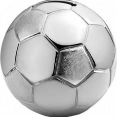 Pusculita in forma de minge, placata cu argint - Pusculita copii