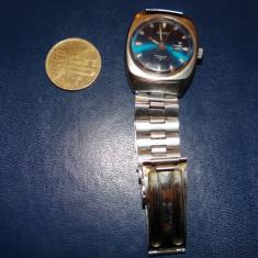 Ceas de mana Seiko, made in Japan, 17 rubine, cu afisare data - Ceas barbatesc