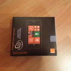 Nokia Lumia 635 - Telefon Nokia, Negru, Orange, 512 MB