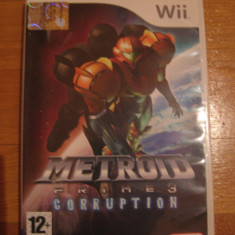 Jocuri WII Altele, Shooting, 12+, Single player - JOC WII METROID PRIME 3 CORRUPTION ORIGINAL PAL / STOC REAL in BUCURESTI / by DARK WADDER