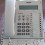 Telefon fix - Vand Centrala telefonica Panasonic KX TDA30 + consola secretariat + 16 terminale KX T7665 + patch-uri rack