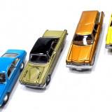 Macheta auto - JOHNNY LIGHTNING-SCARA 1/64- SET 4 MACHETE AMERICANE -++2501 LICITATII !!